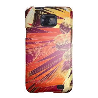 Splashy Colours Galaxy SII Case