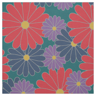 Splashy Fall Floral Fabric