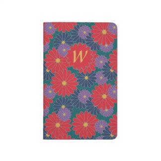 Splashy Fall Floral Pocket Journal
