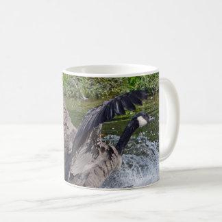 Splashy Landing Canada Goose Coffee Mug