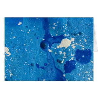 Splat!  Abstract Card