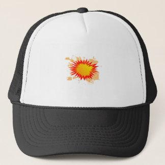 Splat Background Trucker Hat