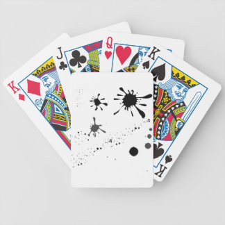 Splat Bicycle Playing Cards