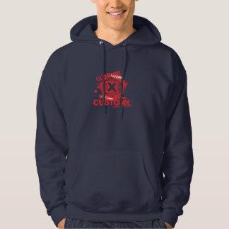 splat hoodie