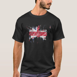 splatter british T-Shirt