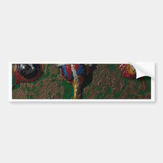 SPLATTER by PAINTINGS by Bass  TM Bumper Sticker