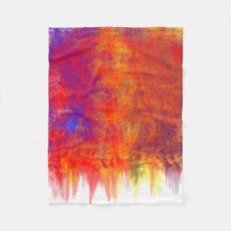 Splatter color  in Blanket
