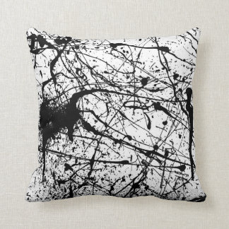Splatter Combo throw pillow