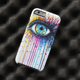 Splatter Eye Tough iPhone 6 Case