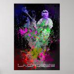 splatter lacrosse poster