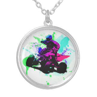 Splatter Necklace