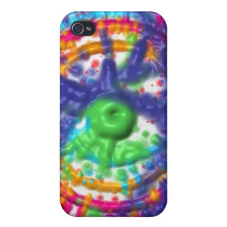 Splatter paint color wheel pattern iPhone 4/4S case