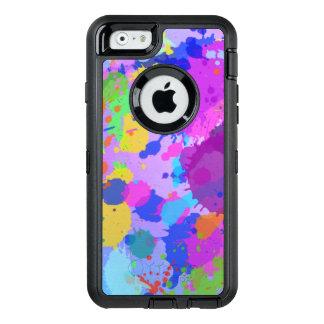 splatter paint Design OtterBox iPhone 6/6s Case
