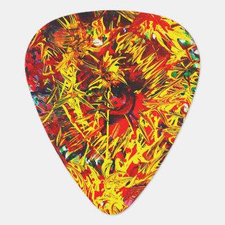 Splatter Paint Guitar Pick