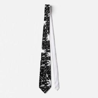 splatter paint tie