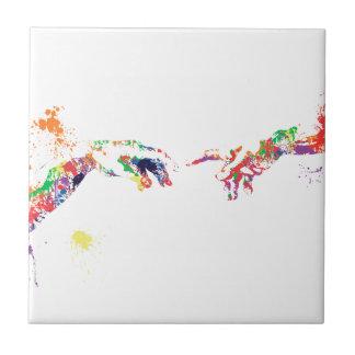 Splatter Sistine Tile