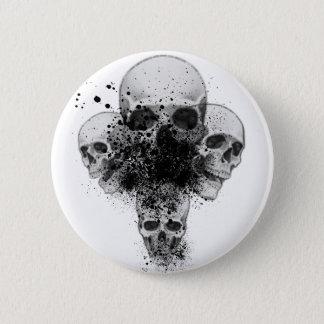 Splatter Skull Button