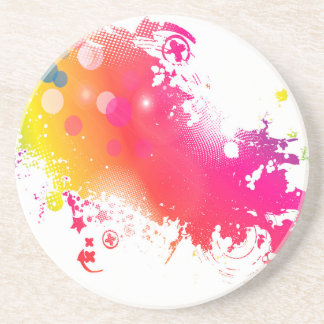splatters coaster