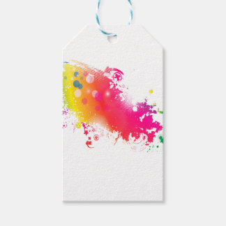 splatters gift tags