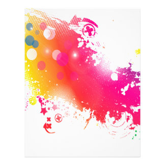 splatters letterhead