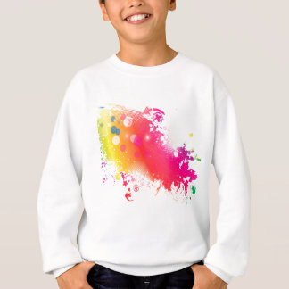 splatters sweatshirt