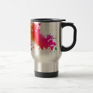 splatters travel mug