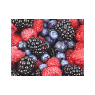Splendid Berries Canvas Print