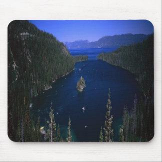 Splendid Emerald Bay in Lake Tahoe Nevada, mousepa Mouse Pad