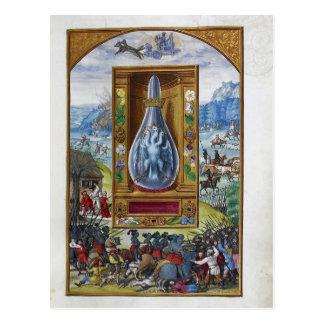 Splendor Solis, a German Alchemical Treatise Postcard