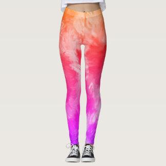 Splish Splash Leggings in Rainbow Sherbert