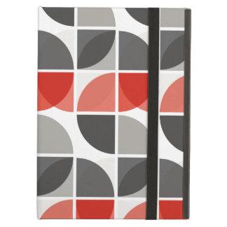 Split Circles S Drop Red iPad Air Covers