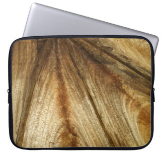 split Curly rock maple Laptop Computer Sleeves