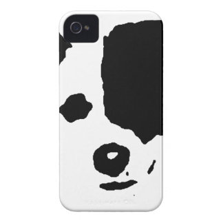 Split Face Border Collie iPhone 4 Cover
