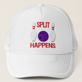SPLIT HAPPENS TRUCKER HAT