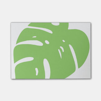Split Leaf Tropical Post-it® Notes