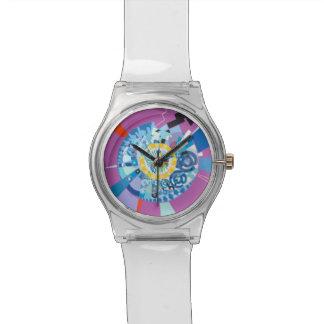 Split Mandala Watch