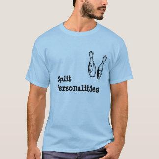 """""""Split Personalities"""" Bowler T-Shirt"""