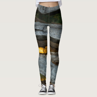 Split Rail Abstract Leggings