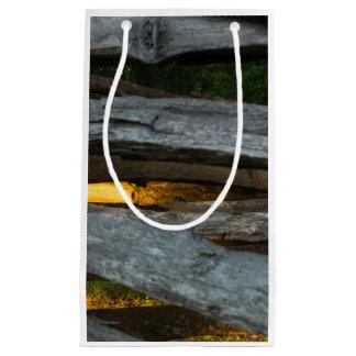 Split Rail Abstract Small Gift Bag
