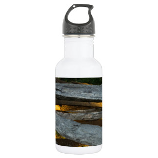 Split Rail Texture 532 Ml Water Bottle