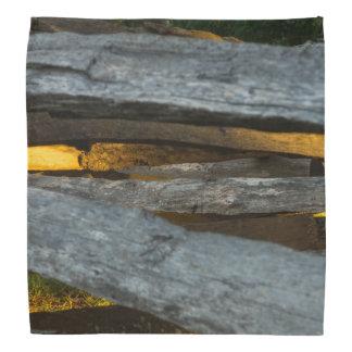 Split Rail Texture Bandana