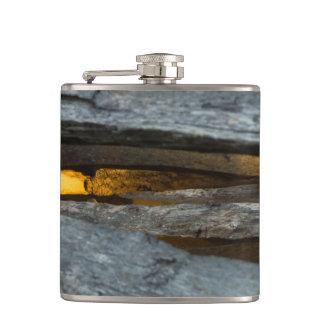 Split Rail Texture Flask