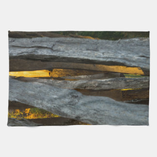Split Rail Texture Kitchen Towel
