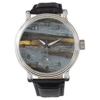 Split Rail Texture Watch