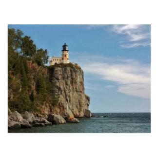 Split Rock Light House Postcard