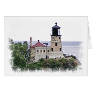Split Rock Lighthouse Minnesota Photo Note Card