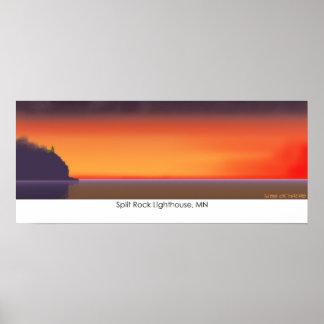 Split Rock Lighthouse, MN Poster
