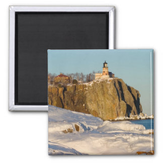 Split Rock Lighthouse State Park on Lake Square Magnet