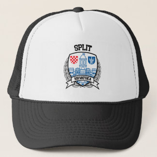 Split Trucker Hat