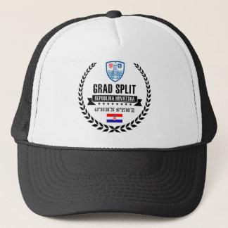 Split Trucker Hat